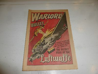 WARLORD & BULLET Comic - Issue 224 - Date 06/01/1979 - UK Paper Comic
