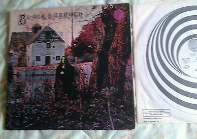 Black Sabbath/Same-First Album.1970 UK Vertigo Swirl LP.