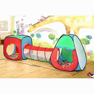 Childrens, Kids Pop Up Play Tent and Tunnel Set Canada