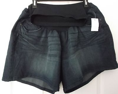 Motherhood Oh Baby Denim Jeans Shorts - Plus Size 3X - New With Tags