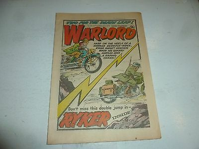 WARLORD Comic - Issue 261 - Date 22/09/1979 - UK Paper Comic