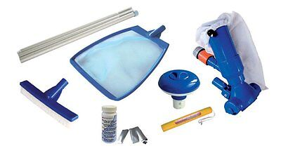 Kokido 7 Piece Splasher Swimming Pool Starter Maintenance Kit | K483CBX