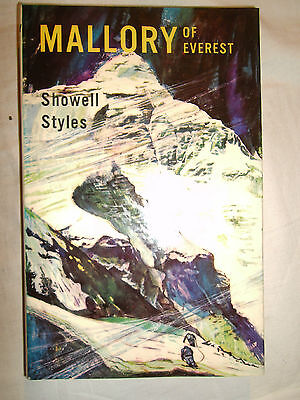 GEORGE MALLORY of EVEREST by Showell Styles - 1st Ed Hardback & DJ - 1967