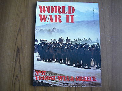 WORLD WAR II - ORBIS PUBLICATION 1972 - No. 17 - YUGOSLAVIA & GREECE