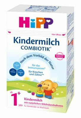 6 x HIPP 600 g KINDERMILCH COMBIOTIK TODDLER MILK 1+ BABY FORMULA FROM GERMANY <