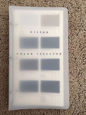 Nissan Color Selector Brochure