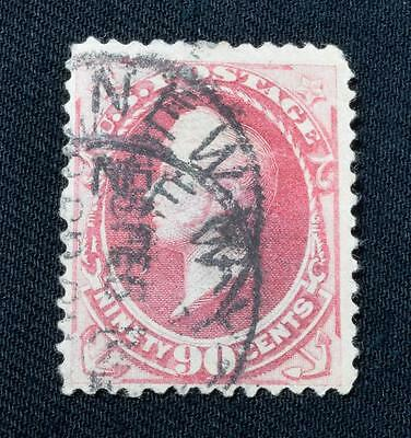 USA Banknote Stamp, Rare 90 Cents Commodore Perry, C.1870s Cat. Price £200