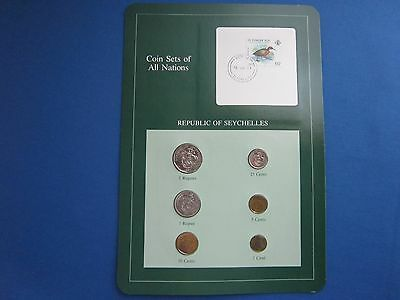 Coin Sets Of All Nations Republic Of Seychelles With Information Card