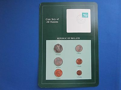 Coin Sets Of All Nations Republic Of Ireland With Information Card