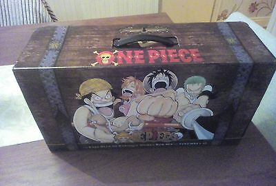 One Piece set 1 East Blue and Baroque Works Box Set Volumes 1 - 23 Books