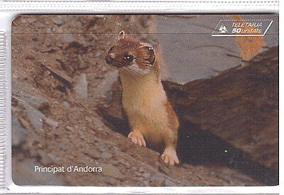 Andorra Phonecard And80 used