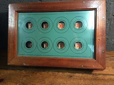 antique vintage butlers bell box servants indicator