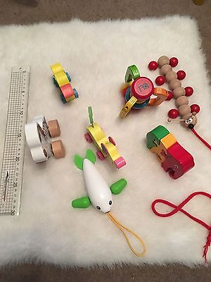 Wooden Baby Toy Bundle (7 Items)
