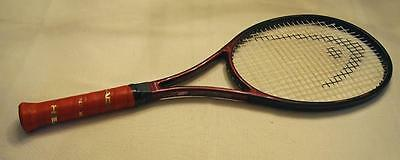 "HEAD PRESTIGE PRO  MIDSIZE TENNIS RACKET 4 3/8 rare ""Made in USA"" 9/10"