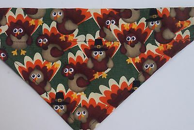 Dog Bandana, OVER THE COLLAR,Thanksgiving Turkeys!