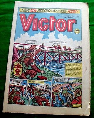Royal Engineers Destroy Sambre Canal Bridge Flanders Ww1 Cover Story Victor 1984