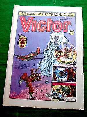 Paddy Leigh Fermor Kidnaps German General  Ww2 Cover Story Victor 1984