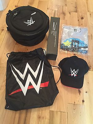 WWE Wrestling Portable BBQ, TShirt, Baseball Cap, Bag