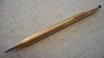 Vintage Cross 12K Gold Filled Mechanical Pencil