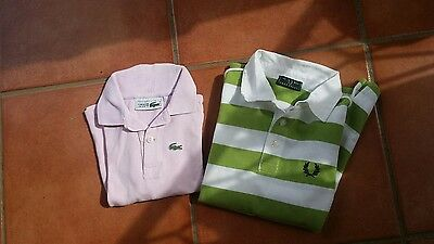 2   Polo  Fred Perry E Lacoste   Anni 6