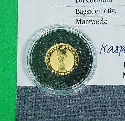 2006 $4 Australia Gold Proof FIFA World Cup Coin Low Mintage