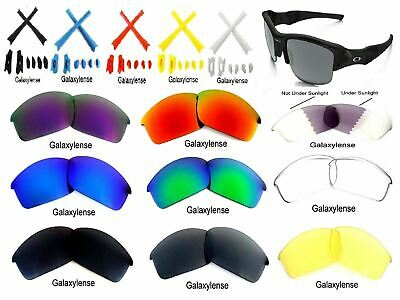 Galaxy Replacement Lenses For Oakley Flak Jacket Multi-Color 100% UVAB