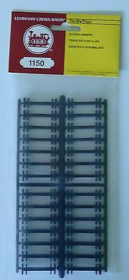 G scale LGB  Track Section Clips  -  1150  -   28 in package