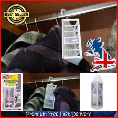 Acana Hanging Moth Killer Fresheners Pack of 4 Clothes Protection Wardrobe Rails