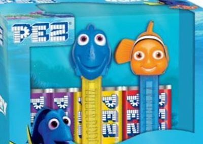 Pez Finding Dory Nemo Candy Dispenser Gift Box Limited Edition New