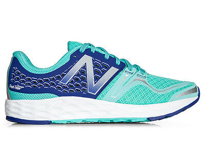 New Balance Women's Fresh Foam Vongo Running Shoe - Light Blue/Navy
