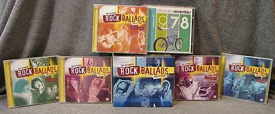 Time Life The Ultimate Rock Ballads Collection 9 Sealed CD Box Set 153 Tracks