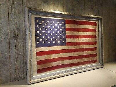 American Flags Tea Stained, Antiqued Or Plain (S/m/l/xl) - Seasonal Sales Event!