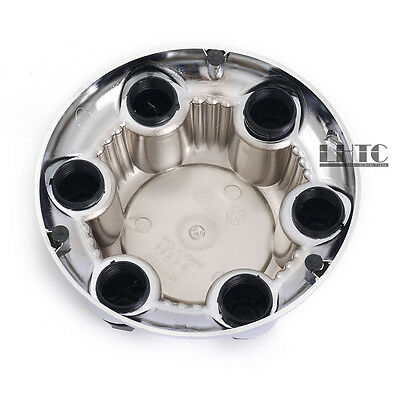 "7 1/4"" Wheel Center Hub Cap 6 Lug Chrome For GMC Sierra Yukon XL 1500 16"" 17"""