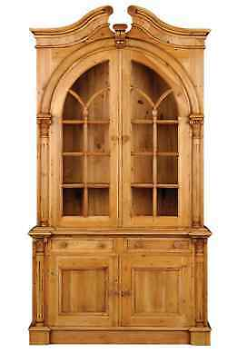Antique Style 4ft Georgian Style Bookcase