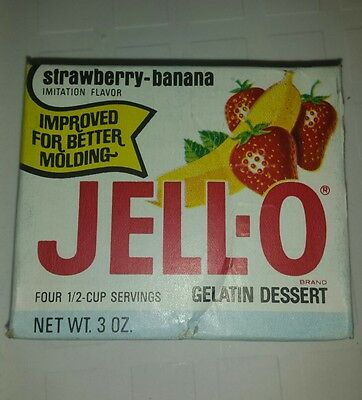 Vintage Jell-O box collectible prop