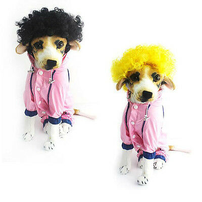 Afro Wig Clown Circus Curly Halloween Pet Dog Cat Costume Accessoire