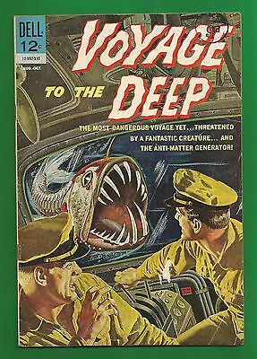 Voyage to the Deep No.3 (1963) (Dell comics)