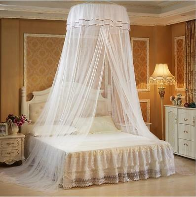 Princess Lace Mosquito Netting Canopy For Twin Full Queen King Bed Size