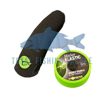 Korda NEW Finger Stall Protector + Line Marker Fishing Elastic *All Sizes*