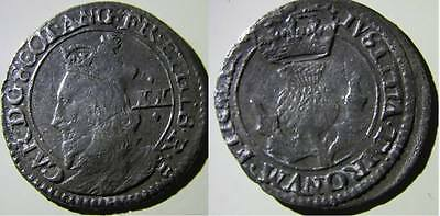 Charles I 20 Pence (S.5581) Scottish hammered coin (0002)