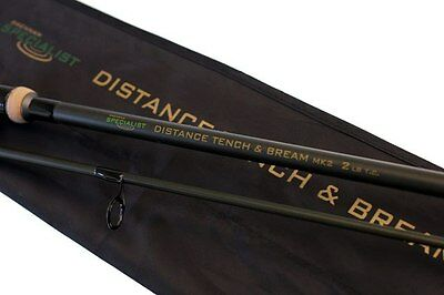 Drennan NEW Coarse Fishing Tench And Bream 2lb Distance Specialist Mk2 12ft Rod