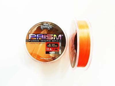Fox Rage NEW Prism Micro Fused Braid 120m Orange Predator Line *All Diameters*