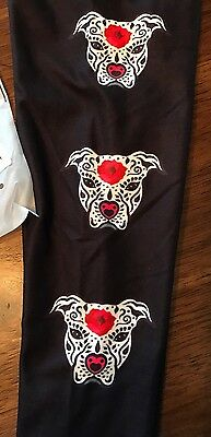New CHARLIES PROJECT Kids S/M Leggings Pit bull Dog Bulldog Toddler Puppy 2t 4t