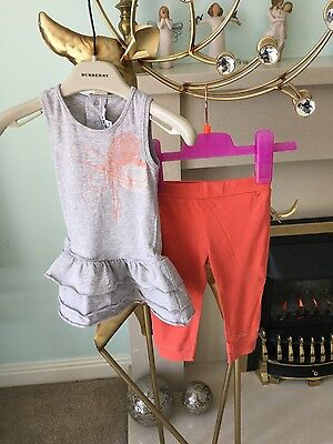 dkny baby girls outfir age 6/12 months