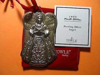 Towle 1999 Ninth Edition Sterling Silver  Angel Limited Edition Take A Look