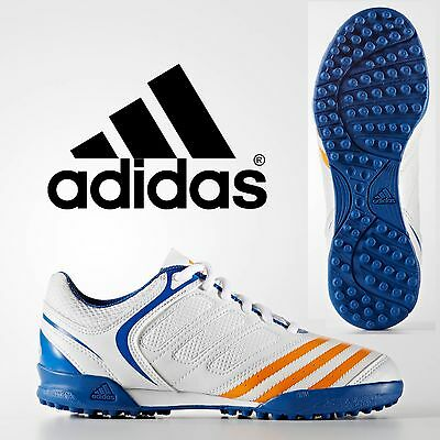 adidas Howzat V Junior Cricket Shoes Boys Outdoors Indoors Astro Sport Trainers