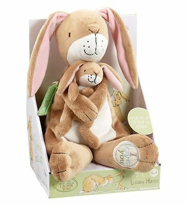 Guess How Much I Love You Lullaby Nutbrown Hare Soft Toy by Rainbow Designs  0+