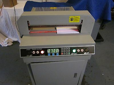 "Paper Cutter Model 450Ep  17.7"" Fully Automatic"