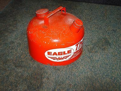 Eagle Gas Can metal (THE GASSER) 2 1/2 gallon