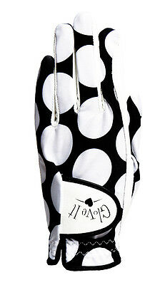 New Ladies Glove It Mod Dot Golf Glove. Size Medium.